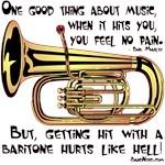 Hit By a Baritone