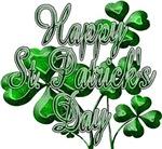 Happy St Patrick's Day Shamrocks