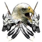 Buffalo Skull and Eagle