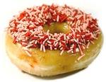 Sprinkled Doughnut
