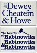 Fictional Law Firms