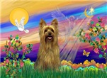 GUARDIAN ANGEL<br>& Silky Terrier
