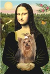 Mona Lisa with Yorkie #7