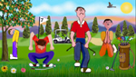 FRUSTRATED GOLFERS