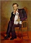 ABRAHAM LINCOLN<br>& Wire Fox Terrier #3