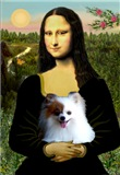 MONA LISA<br>& Pomeranian (red/white)