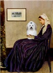 WHISTLER'S MOTHER<br>& Coton de Tulear
