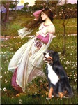 WINDFLOWERS<br>& Bernese Mountain Dog