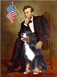 ABRAHAM LINCOLN<br>& Bernese Mountain Dog
