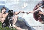 CREATION<br>& Black Labrador Retriever