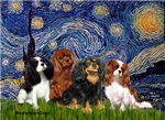 STARRY NIGHT<br>With 4 Cavaliers