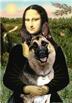 MONA LISA <br>& German Shepherd