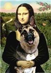 MONA LISA <br>& German Shepherd