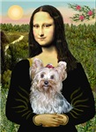 MONA LISA<br>& Yorkshire Terrier