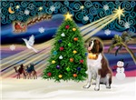 CHRISTMAS MAGIC<br>& Saint Bernard