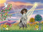CLOUD ANGEL<br> & German Short Haired Pointer