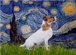 STARRY NIGHT<br>& Jack Russell Terrier