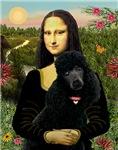MONA LISA<br>& Black Standard Poodle
