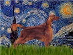 STARRY NIGHT<br>& Irish Setter