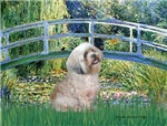 LILY POND BRIDGE<br>& Lhasa Apso