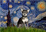 STARRY NIGHT<br>Chihuahua (blue)