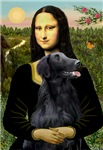 MONA LISA<br>& Flat Coated Retriever