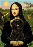 Mona Lisa (new version) & Affenpinscher