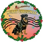 CHRISTMAS MUSIC (#2)<br>& Rottweiler    