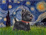 STARRY NIGHT<br>& Scottish Terrier