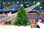 CHRISTMAS MAGIC<br>& Yorkshire Terrier (#6)