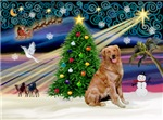 CHRISTMAS MAGIC<br>& Golden Retriever