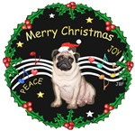 CHRISTMAS MUSIC 2MC<br>& Pug