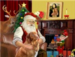 SANTA AT HOME<br>& NS Duck Tolling Retriever