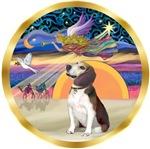 CHRISTMAS STAR<br>& Beagle