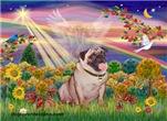 AUTUMN SUN<br>& Fawn Pug #2