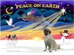 CHRISTMAS SUNRISE<br>& Bull Mastiff