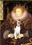 QUEEN ELIZABETH I<br>& Beagle (#1)