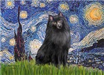 STARRY NIGHT<br>&Schipperke #2