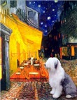 TERRACE CAFE<br>& Old English Sheepdog
