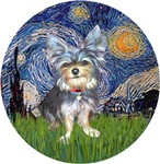 Starry Night<br>& Australian Terrier #2