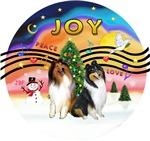 CHRISTMAS MUSIC #2<br>Two Collies