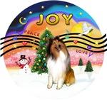 CHRISTMAS MUSIC #2<br>Sable/White Collie