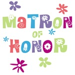 matron of honor t-shirts