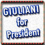 Rudy Giuliani T-shirts, Buttons, Stickers