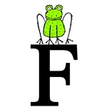 Letter F for Frog T-shirts & Kids Gifts