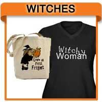 Witch T-shirts, Witches Tees, Gifts