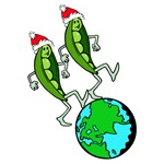 Holiday Peas on Earth