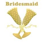champagne flute bridesmaid