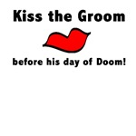 Kiss the Groom Shirts, Bachelor Party Wear