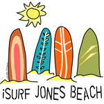 iSurf Jones Beach Tshirts and Clothing
